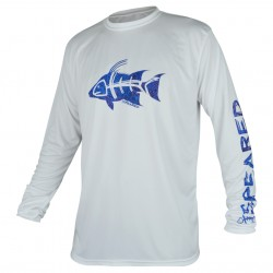 Image from Speared Hogfish UV Tee +50 UPF Long-Sleeved Sunshirt (Men's)
