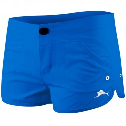 Image from Pelagic Moana +50 UPF Hybrid Performance Shorts (Women's)
