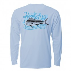 Image from AVID Hooked Mahi AviDry +50 UPF Long-Sleeve Performance Sunshirt (Men's)