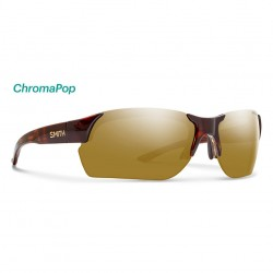 Image from Smith Envoy Max ChromaPop™ Polarized Sunglasses (Men's) - Tortoise/Bronze Mirror