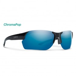 Image from Smith Envoy Max ChromaPop™ Polarized Sunglasses (Men's) - Black/Blue Mirror