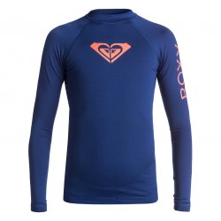 Image from Roxy Whole Hearted 50+ UPF Long-Sleeved Rashguard (Girls 7-14)
