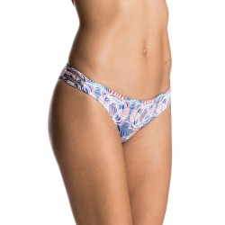 Image from Roxy Printed Strappy Love Reversible Surfer Bikini Bottoms (Women's)