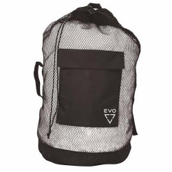 Image from EVO Deluxe Mesh Backpack Dive Bag - Black