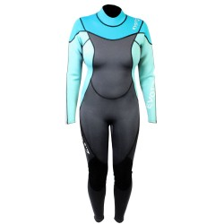 Image from EVO Elite 3mm Super-Stretch Full Scuba Wetsuit (Women's)