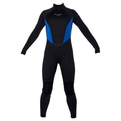 Image from Evo Elite Womens 5/3 Wetsuit - Black/Blue