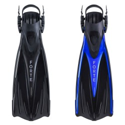 Image from EVO Forte Angled-Blade Open-Heel Dive Fins