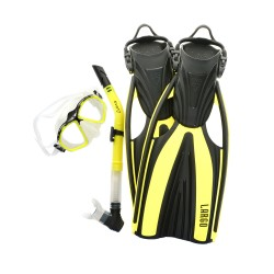 Image from EVO Largo Mask, Fin, Snorkel Kit