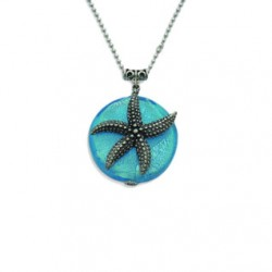 Image from Feifish Silverdescent Starfish Necklace