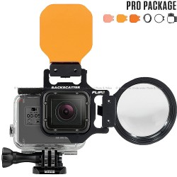 Image from Backscatter Flip5 Pro GoPro Underwater Lens and Filter Package