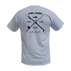 Image from Pelagic Premium Fish Dive Surf Tee