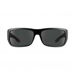 Image from Pelagic Fish Hook Sunglasses - Matte Black Frames with Grey Glass Lenses