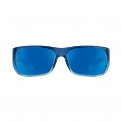 Image from Pelagic Fish Hook LTD Sunglasses - Bluehelix Frames with Blue Mirror Glass Lenses