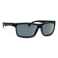 Image from Forecast Optics Sunglasses Ajay - Matte Black/ Grey Polycarbonate