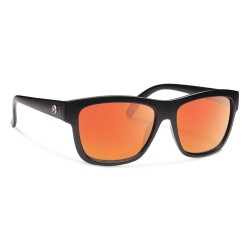Image from Forecast Optics Cid Matte Black/ Red Mirror