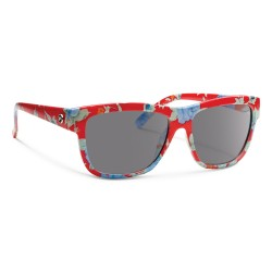 Image from Forecast Optics Cid Red Floral/ Grey