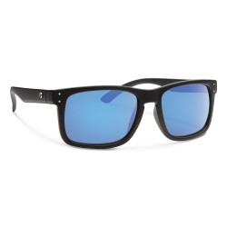 Image from Forecast Optics Clyde Matte Black/ Blue Mirror