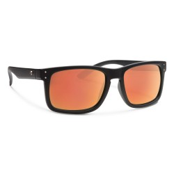 Image from Forecast Optics Clyde Matte Black/ Red Mirror