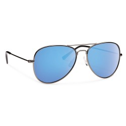 Image from Forecast Optics Kennedy Gunmetal/ Blue Mirror