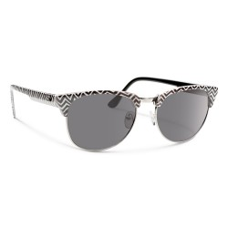 Image from Forecast Optics Sunglasses Rink - Black White/ Grey