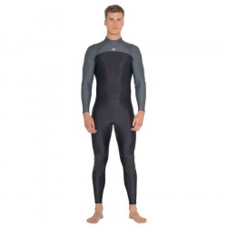 Image from Fourth Element Thermocline One Piece 2mm Neoprene-Free Rear-Entry Steamer Wetsuit (Men's)