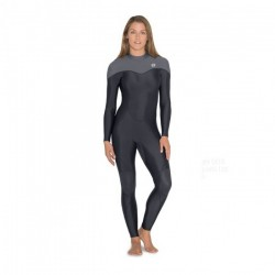 Image from Fourth Element Thermocline One Piece 2mm Neoprene-Free Rear-Entry Steamer Wetsuit (Women's)
