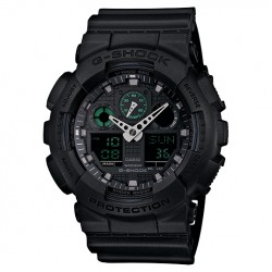 Image from G-SHOCK GA-100 Military Dive Watch - Black
