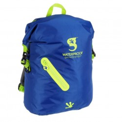 Image from Gecko Lightweight Waterproof Backpack - Royal Blue/Bright Green