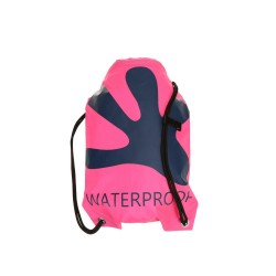 Image from Gecko Waterproof Backpack - Pink/ Navy