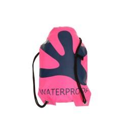 Image from Gecko Waterproof Backpack - Pink/ Navy