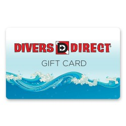 Image from Divers Direct Physical Gift Card