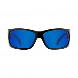 Image from Pelagic Twin Diesel Sunglasses - Glossback Frames with Ocean Mirror Lenses