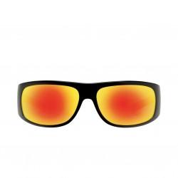 Image from Pelagic Legend Sunglasses - Glossback Frames with Sunrise Mirror Lenses
