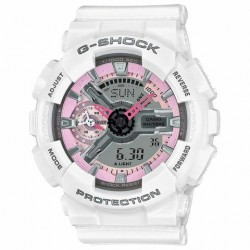 Image from G-Shock S Series - White/Pink - Front