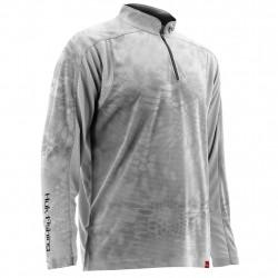 Image from Huk Trophy Kryptek 1/4 Zip Long-Sleeve Sunshirt (Men's)