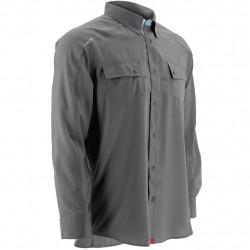 Image from Huk Next Level Hybrid Button-Down UPF 30+ Long-Sleeved Sunshirt (Men's)