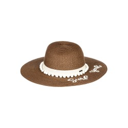 Image from Roxy Pio La La Straw Sunhat (Women's)