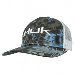 Image from Huk Kryptek Logo Adjustable Snapback Trucker Hat (Men's)