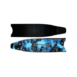 Image from Hammerhead Kaudal Carbon Blue Camo Replacement Fins Blades