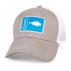 Image from Costa Original Patch Tuna Hat (Men's) - Gray and White