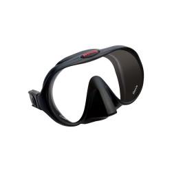 Image from Hollis M1 Frameless Single-Lens Dive Mask - Black