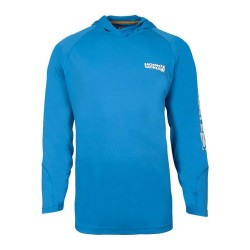Image from Hook & Tackle Seamount Hoodie Long-Sleeve Tech Shirt (Men's) Maliblue