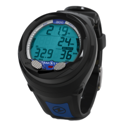 Image from AQUA LUNG i300 WRIST COMPUTER blue side