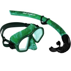 Image from Hammerhead Apnea Camo Two-Lens Mask and Snorkel Freediving Combo