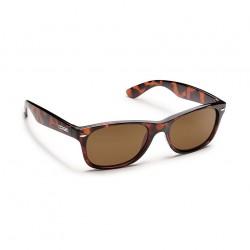 Image from Suncloud Polarized Polycarbonate Jasmine Sunglasses (Women's) - Tortoise/Brown