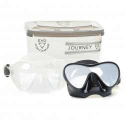 Image from EVO Journey Single-Lens Crystal Silicone Frameless Mask