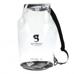Image from Gecko Dry Bag 30L - Clear - Front