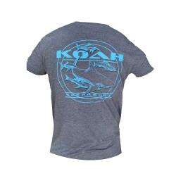 Image from Koah Shark Cobia Spearfishing T-Shirt - Navy