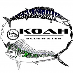 Image from Koah Spearfishing X-DRI Performance Shirt - Wahoo/Mahi