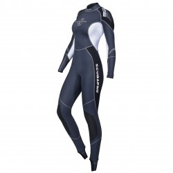 Image from ScubaPro Profile 0.5MM Rear-Zip Full Steamer Wetsuit (Women's)